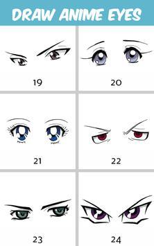 How to Draw Anime Eyes screenshot 7