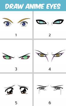 How to Draw Anime Eyes screenshot 8