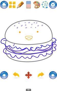 How to Draw Cute Food apk screenshot