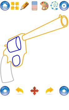 How to Draw Guns screenshot 1