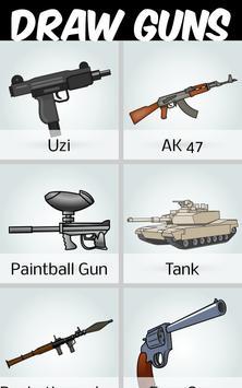 How to Draw Guns screenshot 3