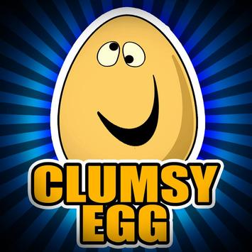Clumsy Egg Adventure Free Game poster