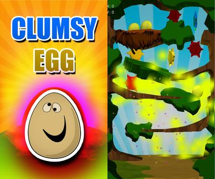 Clumsy Egg Adventure Free Game screenshot 3