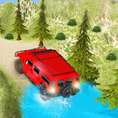 Up Hill Free Driving Jeep icon