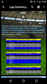 LIGA GOLDEN DE FUTBOL SOCCER screenshot 4