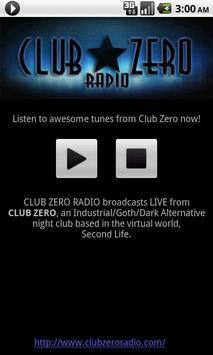 Club Zero Radio poster