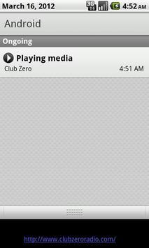 Club Zero Radio screenshot 1