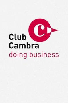 ClubCambra doing business poster