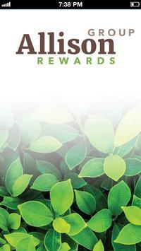 Allison Group Rewards poster