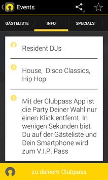 Clubpass apk screenshot