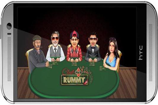 Club Rummy 13 & 21 Cards Rummy poster