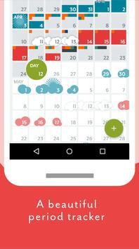 Schermata apk Clue Calendario mestruale: Traccia il tuo ciclo