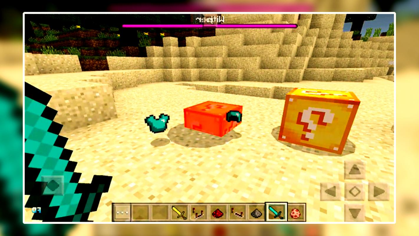 lucky block mod minecraft download