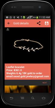 latest gold designs poster
