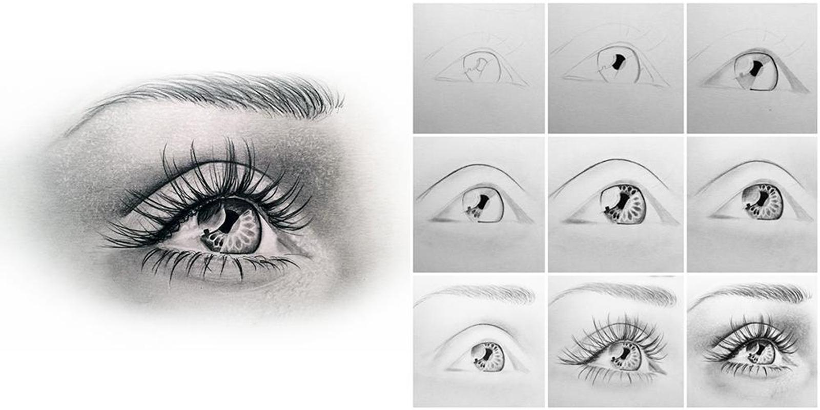 Learn to Draw Eyes APK Download - Free Entertainment APP ...