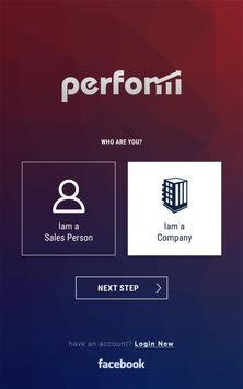 Perform Application apk screenshot