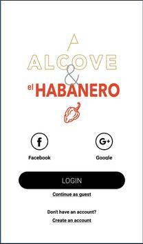 Alcove & el Habanero poster