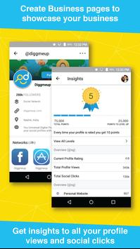 Diggmeup - Your Universal Digital Profile apk screenshot