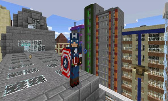 Captain Hero Mod for MCPE apk screenshot