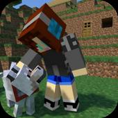 Mod Dog Friend Craft for MCPE icon