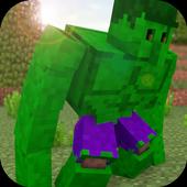 Mos Green Super Hero for MCPE icon