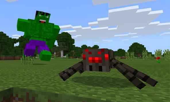 Mos Green Super Hero for MCPE apk screenshot