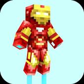 Mod Iron Hero for MCPE icon