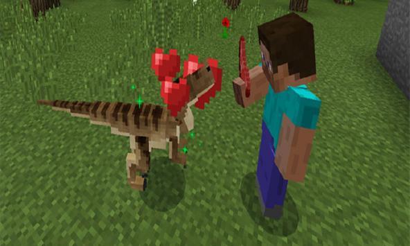 Mod Raptor Tamer Craft for MCPE poster