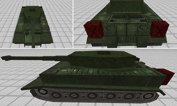 Mod Tank Of War for MCPE apk screenshot