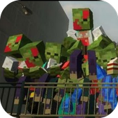Mod Zomibe Apocalypse Craft for MCPE icon