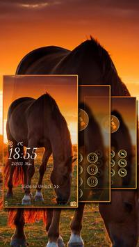 Lively Horse Locker Theme poster