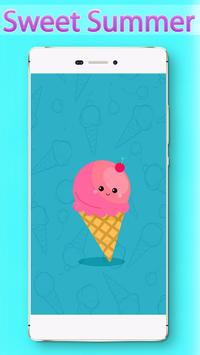 Sweet Summer Locker Theme apk screenshot