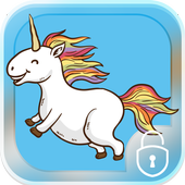 Unicorn Colors Locker icon