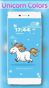 Unicorn Colors Locker poster