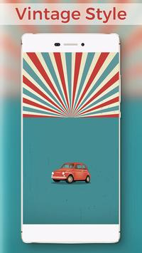 Vintage Locker Pretty Theme poster