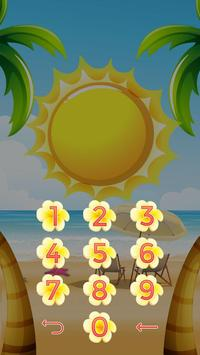 Summer Locker Theme apk screenshot