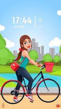 Girly Locker Theme apk screenshot