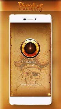 Gold Treasure Pirates Locker Theme poster