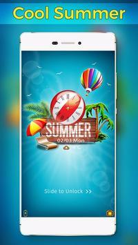 Summer Vibes Locker Theme apk screenshot
