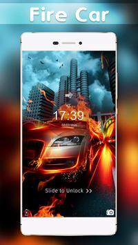 Race Car Hot Locker Theme screenshot 1