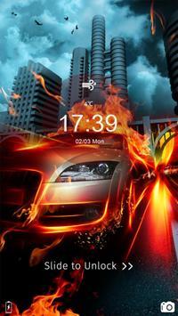 Race Car Hot Locker Theme screenshot 5