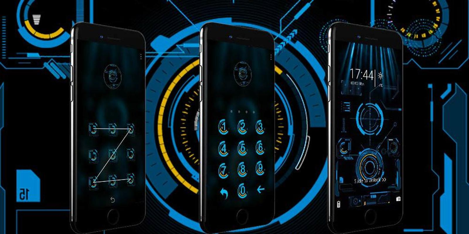 Neon Technology Halo Theme for Android - APK Download