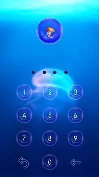 Jellyfish CM locker Theme apk screenshot