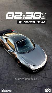 Speed Car CM Locker Theme poster