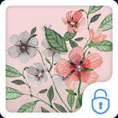 Vintage Flower CM Locker Theme icon