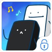 Piano Tiles Theme CM Locker icon
