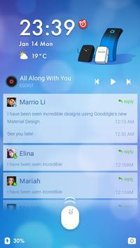 Piano Tiles Theme CM Locker apk screenshot