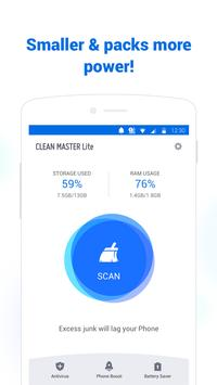 Clean Master Lite - For Low-End Phone-poster
