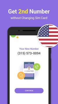 Text One: Text Free,2nd Phone Number,WiFi Calling apk screenshot