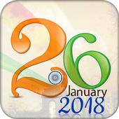 26 January 2018 - Republic of Day India 2018 icon